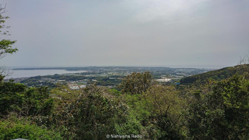 砲台山からの眺め