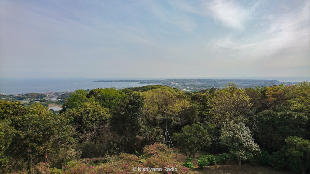 武山からの眺め