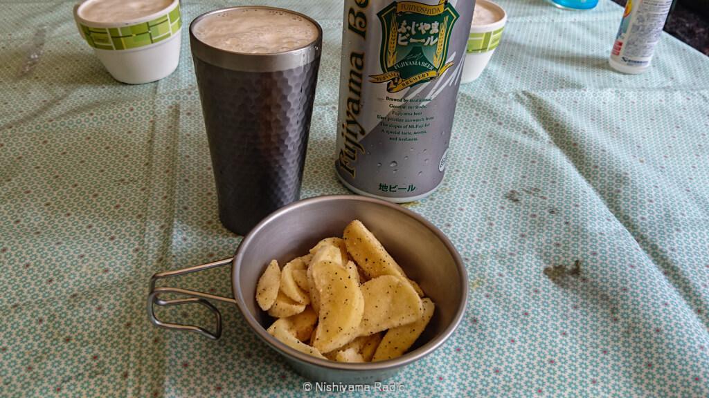 ふじやまビールで乾杯!